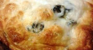 Olive  Garlic Pull Apart Bread
