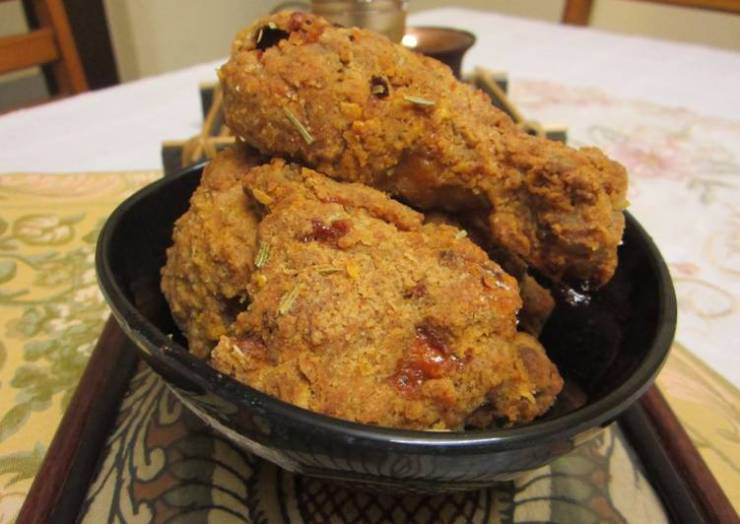 Kids' Favorites Crispy Baked Crumb Chicken : Finger-licking Good!! :)