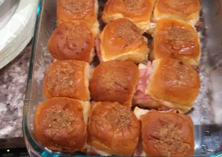 Ham and Cheese Dijon Sandwiches