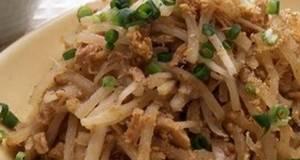 Stir-Fried Daikon Radish  Tuna