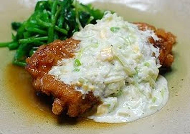 Fried Chicken Sweet N Sour Sauce with Tartar