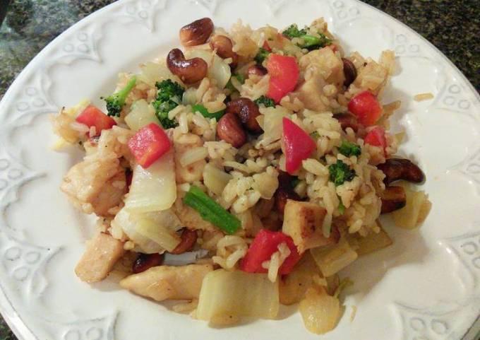Cashew Chicken Fried Rice