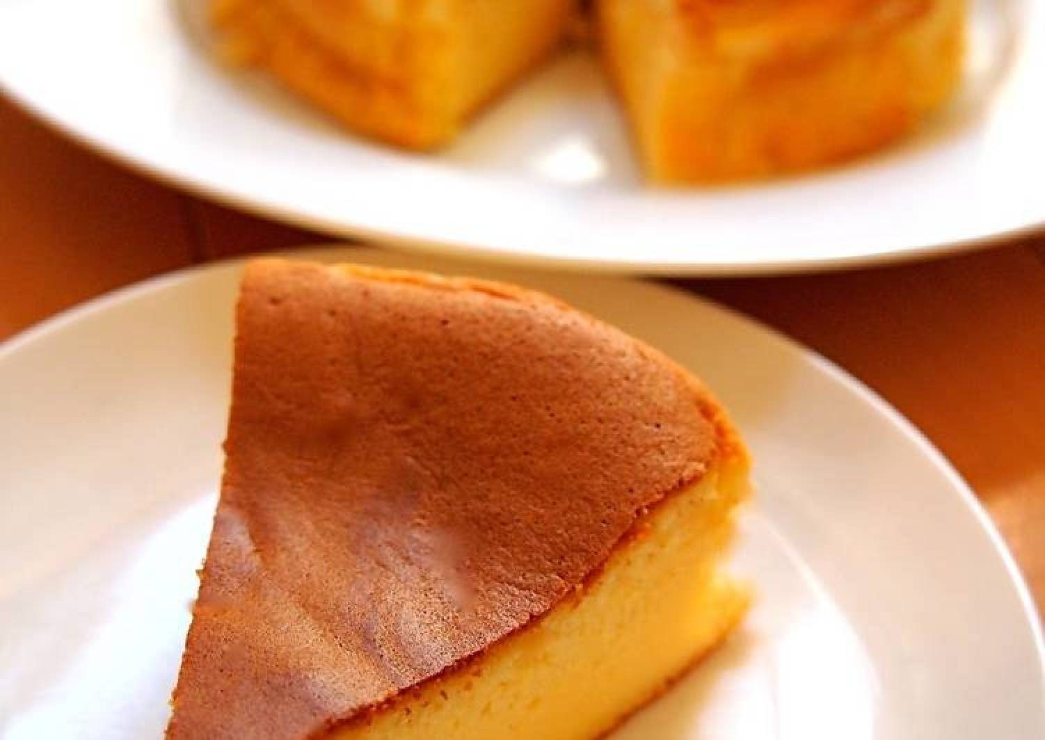 Not Steamed- Easy Pancake Mix Soufflé Cheesecake