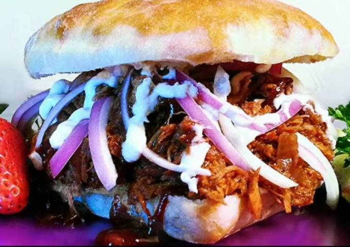 Mike's Sloppy Sow BBQ Pulled Pork Sandwiches