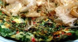 Yummy Leek Okonomiyaki