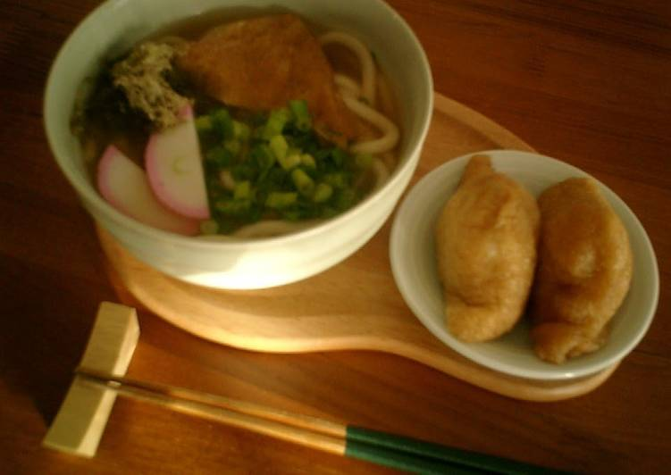 Simple  Easy To Remember Udon Noodle Soup