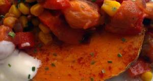 Vickys Sweet Potatoes with Smoky Tomato Filling GF DF EF SF NF