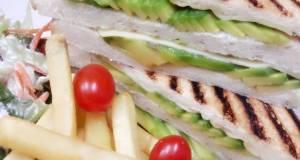 Kanyas Avocado and Honey Sandwiches