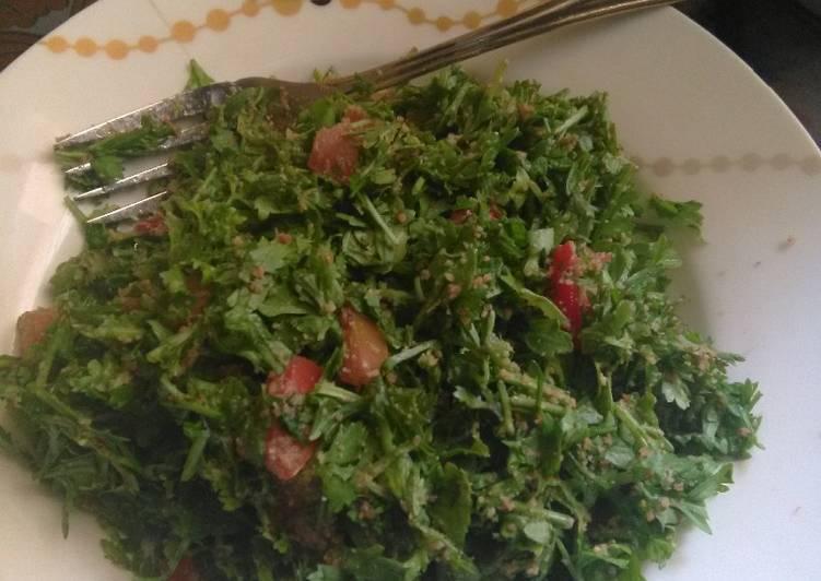 Recipe of Homemade Local Cress Salad