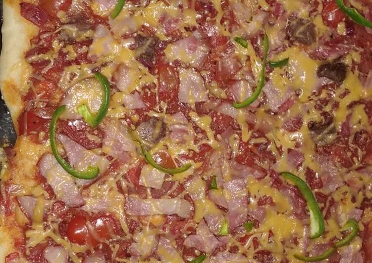 Homemade Beef brawn pizzamoms recipe