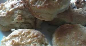 Savory Ginger Garlic biscuits