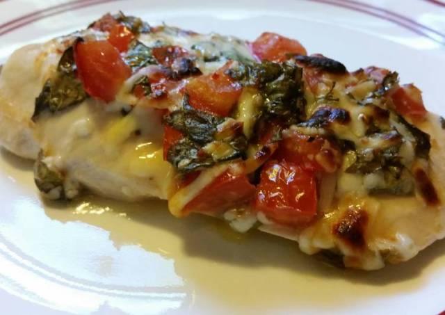 Bruchetta Mozzarella Chicken