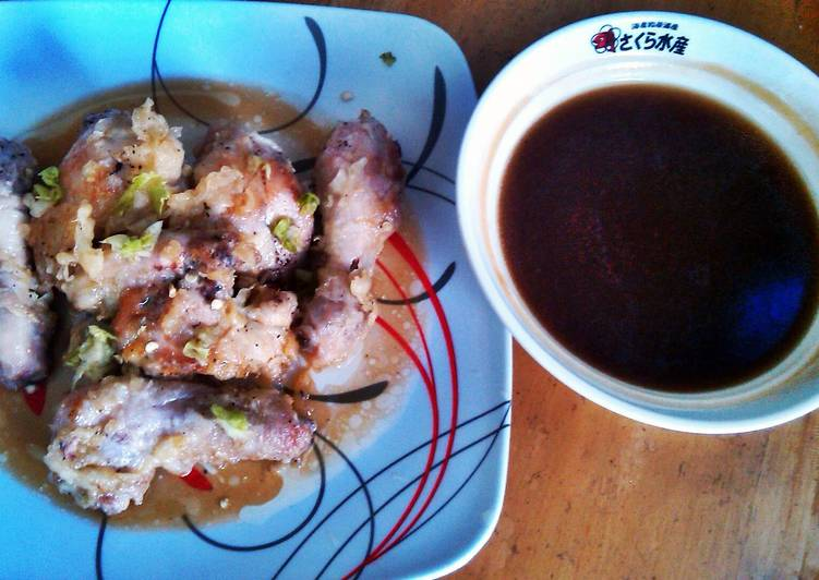 Battered Chicken with Teriyaki Sauce