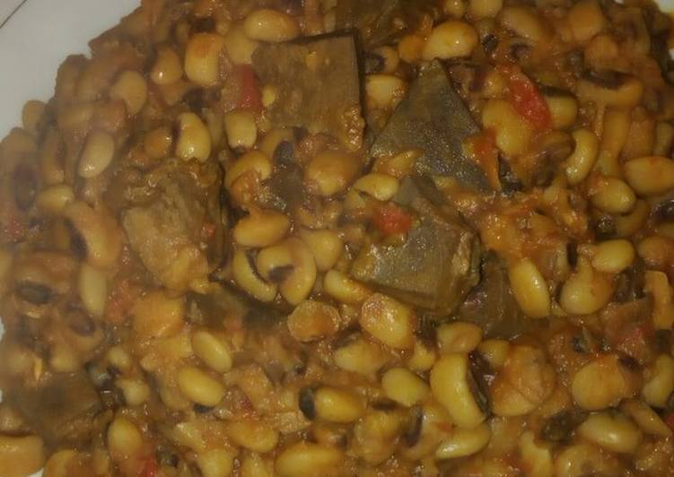 Steps to Make Award-winning Pottage beans with liver