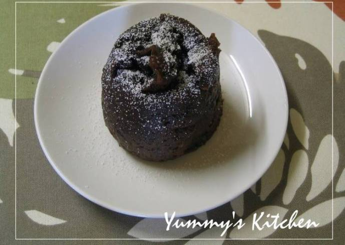 Just Microwave! Chocolate Cake for One