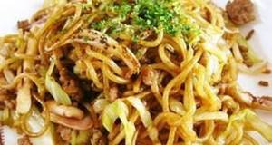 Ika Yakisoba Panfried Noodles with Squid