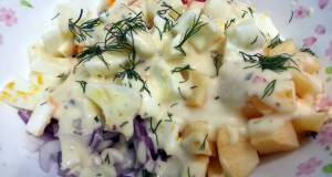 Egg White And Apple Salad
