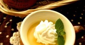 Simple  Rich Pumpkin Pudding
