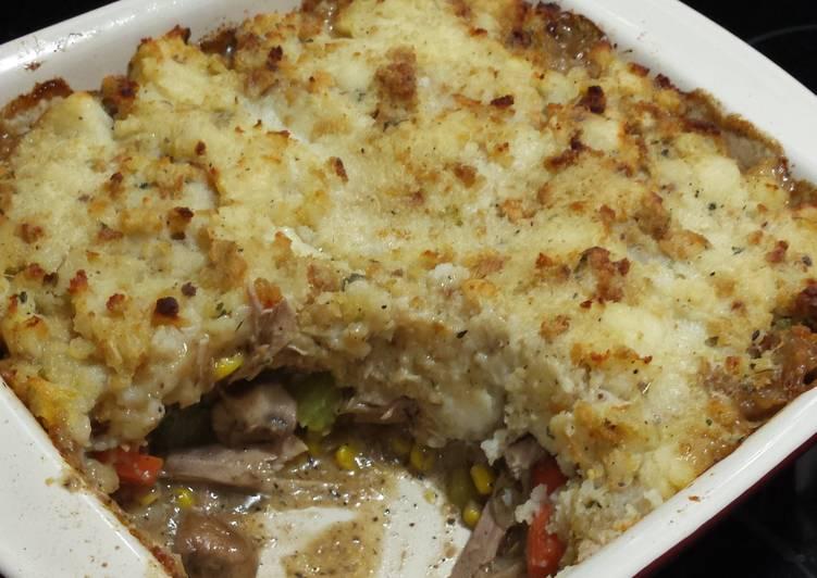 Turkey Pot Shepherds Pie