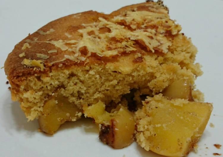 Parmesan Apple Pie