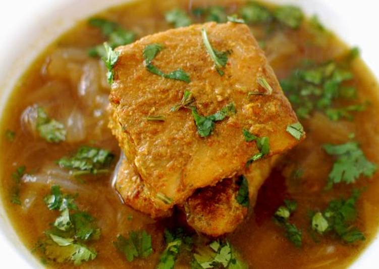 Cod fish curry