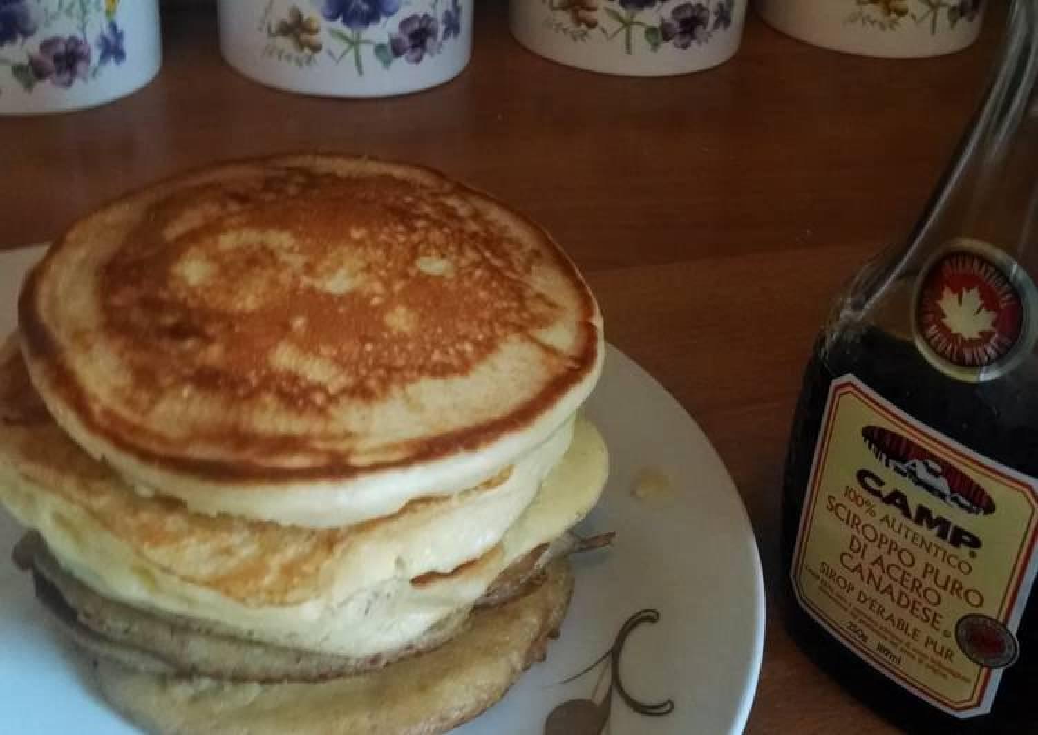 Fluffy pancake // even I can make