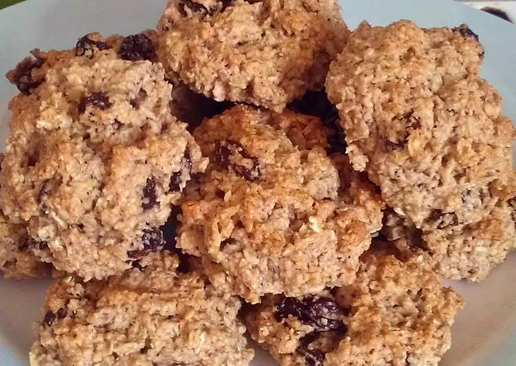 Vickys Oatmeal Raisin Cookies GF DF EF SF NF