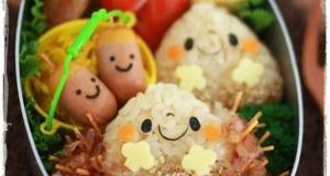 Fall Bento with Mr Chestnut and Friends
