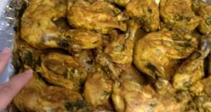 oven bake spicy chicken