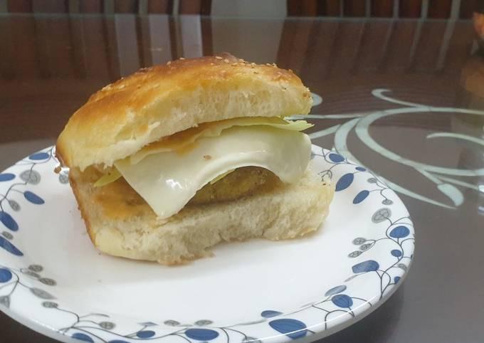 Recipe of Homemade Potato Poha Burger