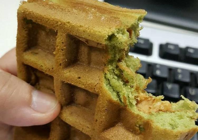 Purry's Green Matcha Waffle