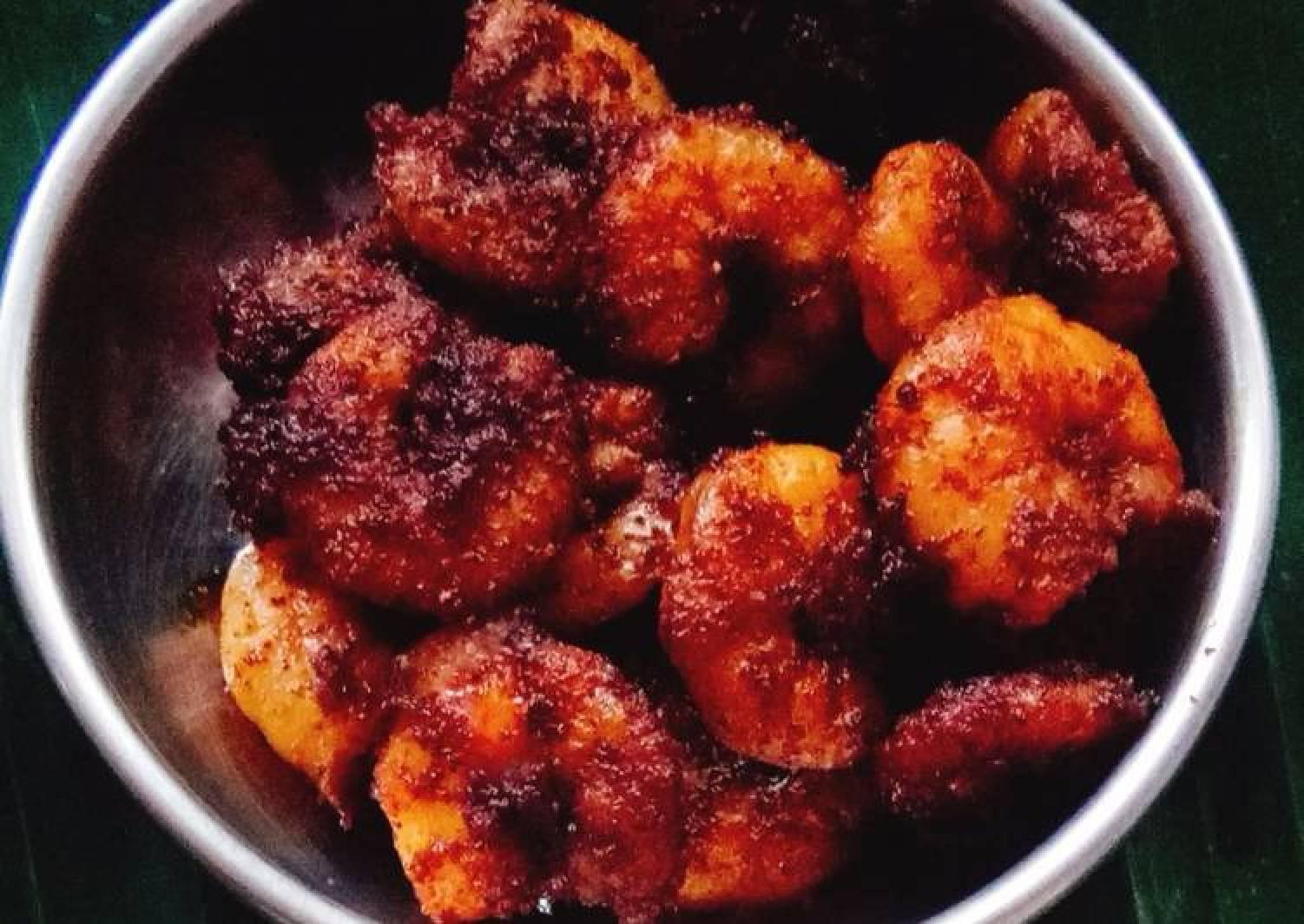 Prawn fry