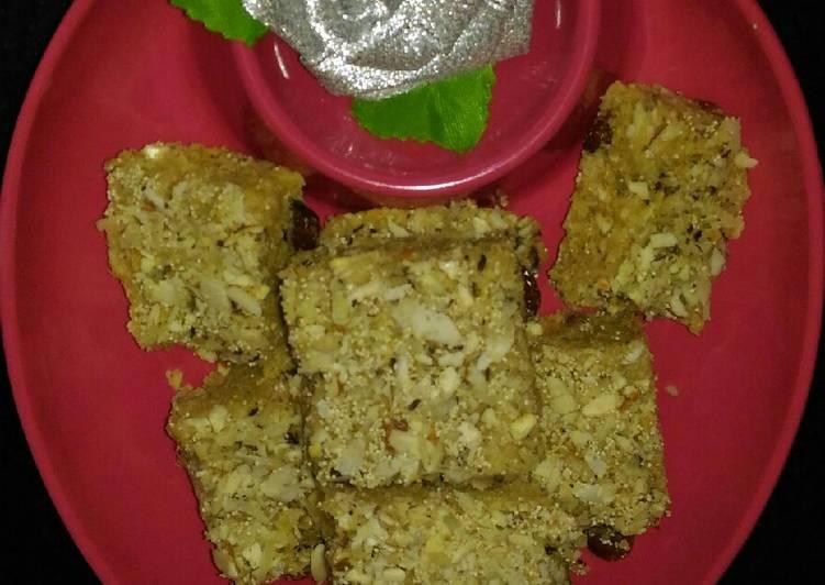 Easiest Way to Make Any night of the week Jowar Flour Gudpapdi