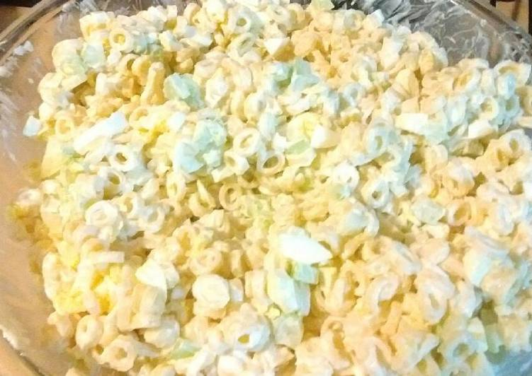 Recipe of Super Quick Homemade Grandma's Macaroni Salad