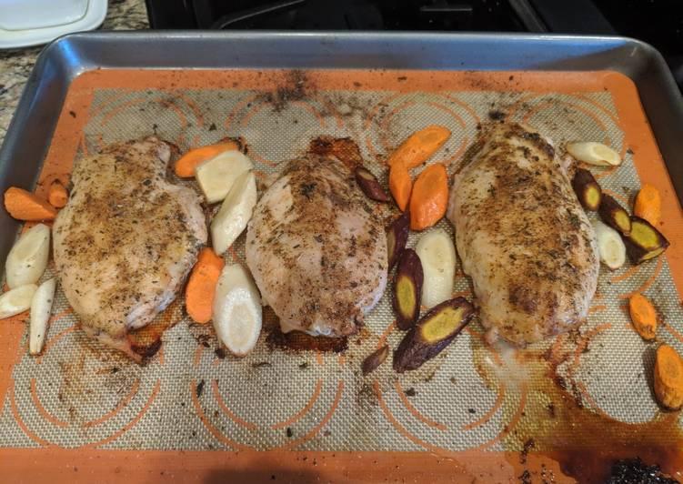Savory herb chicken