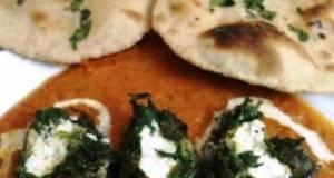 Palak Paneer Kofta with Tandoori Roti
