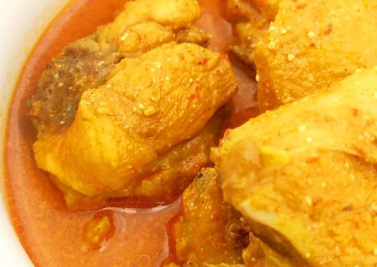 Gulai Ayam Warung padang