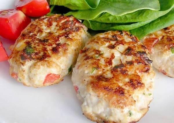 Куриные котлеты с кабачком и рисом - пошаговый рецепт с ...