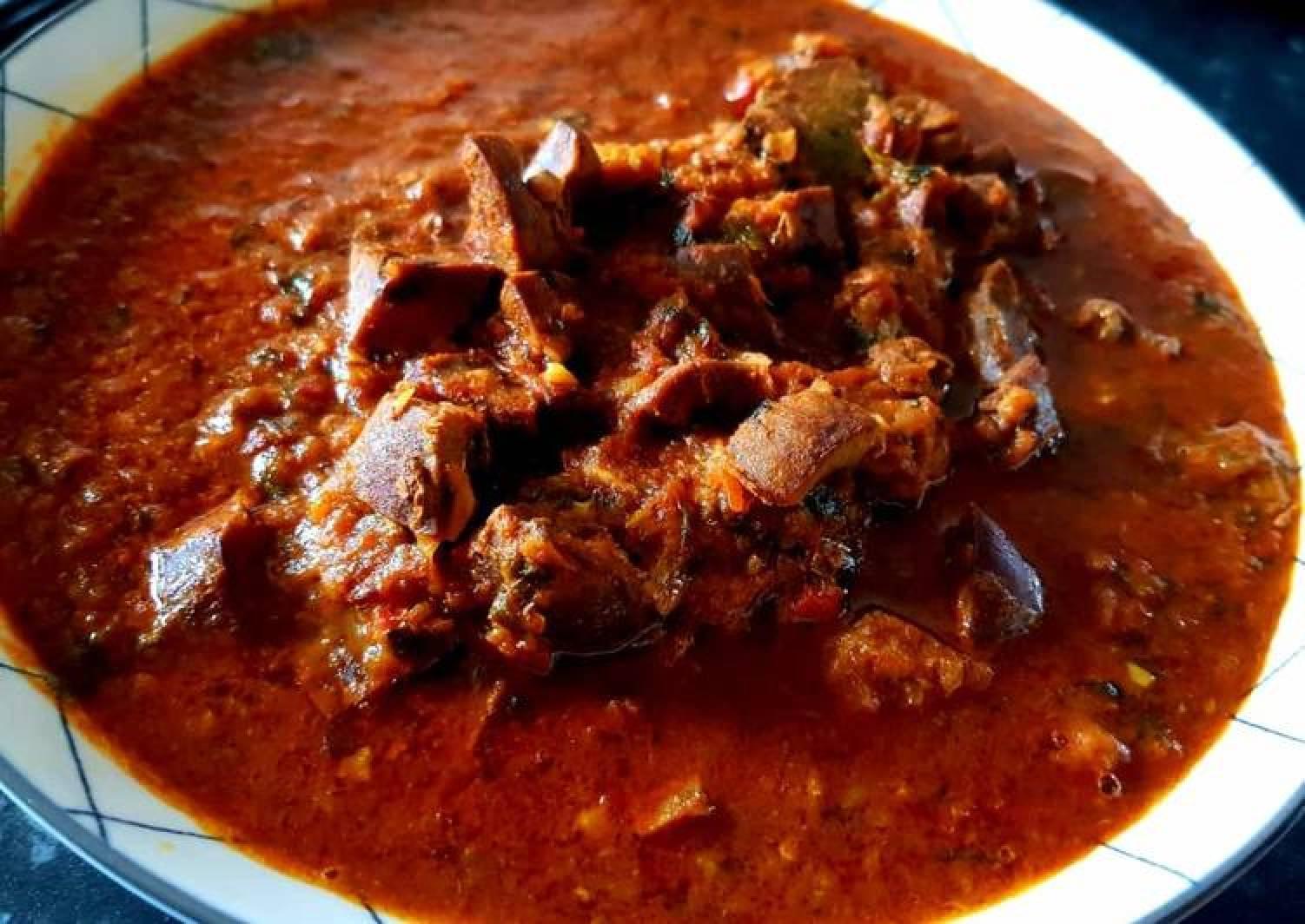 Lamb Kidney Gravy (South Indian Style)