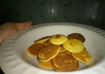 Resep Mini Pancake Simple^^ Paling Enak