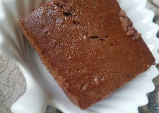 Brownie mini casero