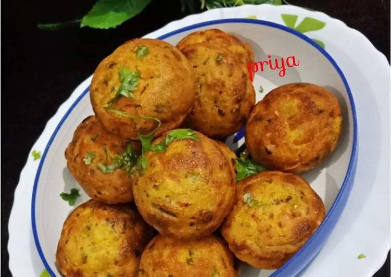 Maize Flour Appe /Makkai ke appe