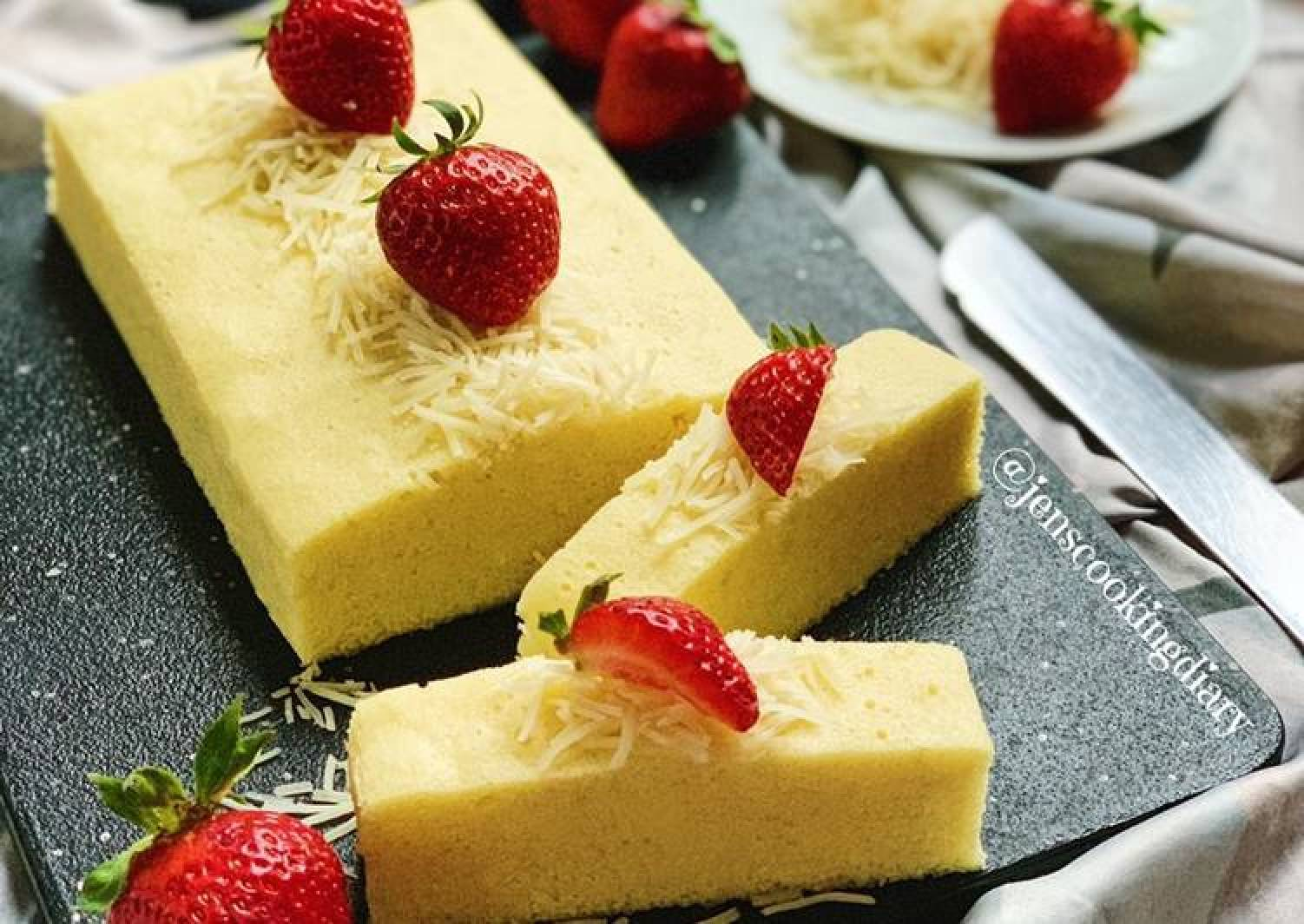 Steamed Cheese Brownie