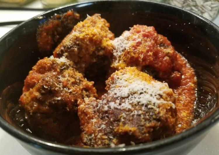 Keto Gluten-Free Italian Meatballs