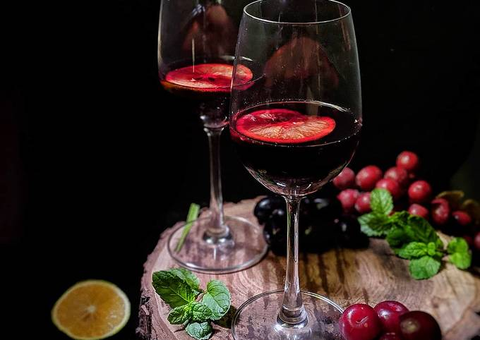 Recipe of Speedy Red Wine Sangria