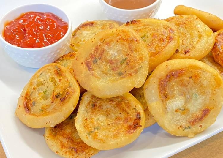 Potato Pinwheel Recipe by Tasty Rabi Food
