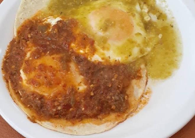 Huevos rancheros🤠
