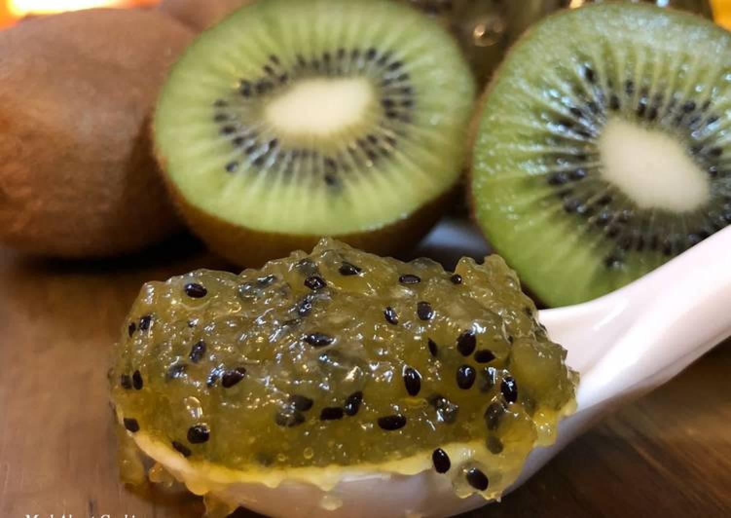 Kiwi Jam – No Preservative Fruit Jam