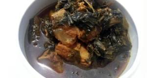 Preserved Mustard Green Pork Stew /Mui Choy