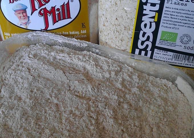 Recipe of Award-winning Vickys Gluten-Free Flour Mix 3 - Breads, Muffins, Cookie Bars